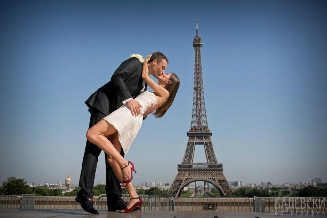Париж, Франция - Diana & Pierre