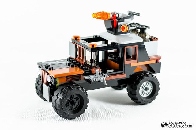 REVIEW LEGO 76050 Marvel Crossbones' Hazard Heist (HelloBricks)