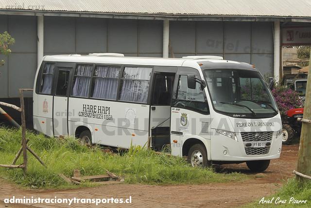 Hare Hapi (Transporte Escolar) - Isla de Pascua - Volare W9 / Mercedes Benz (FYBD17)