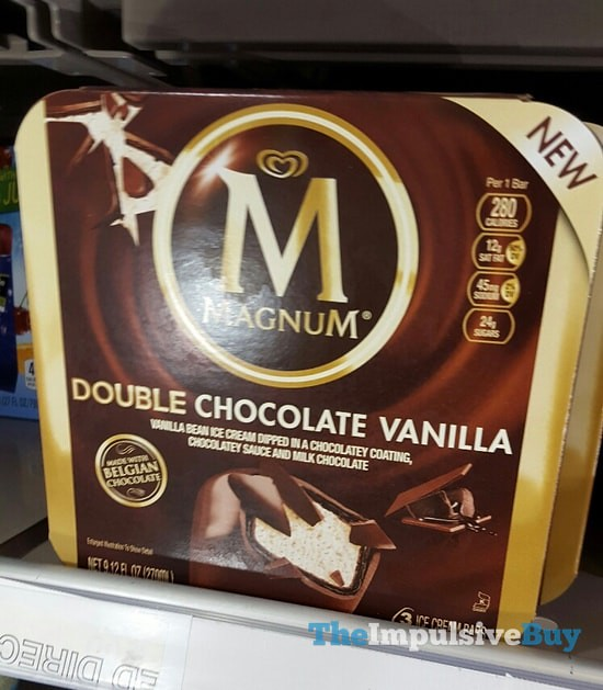 Magnum Double Chocolate Vanilla Ice Cream Bars