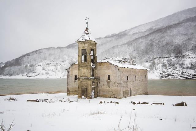 Church of St Nicholas in Mavrovo Lake, Republic of Macedonia