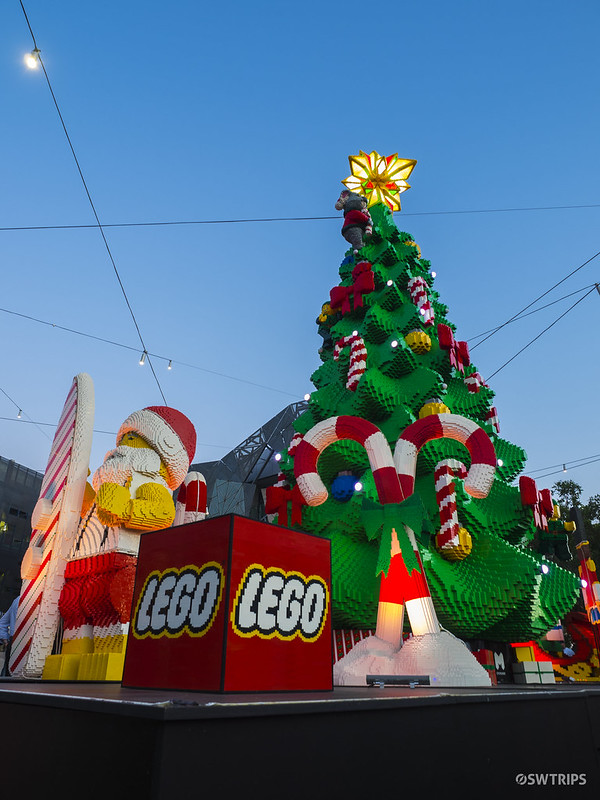 Lego Christmas Tree, Melboune