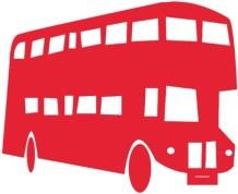 rød bus