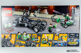 REVIEW LEGO 76045 DC Comics Batman Kryptonite Interception 02