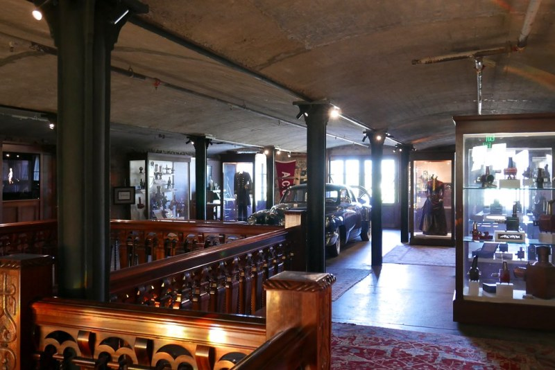 Francis Ford Coppola film museum at Inglenook