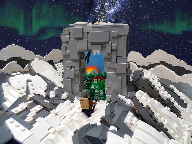 Rømningsvei - Porte LEGO