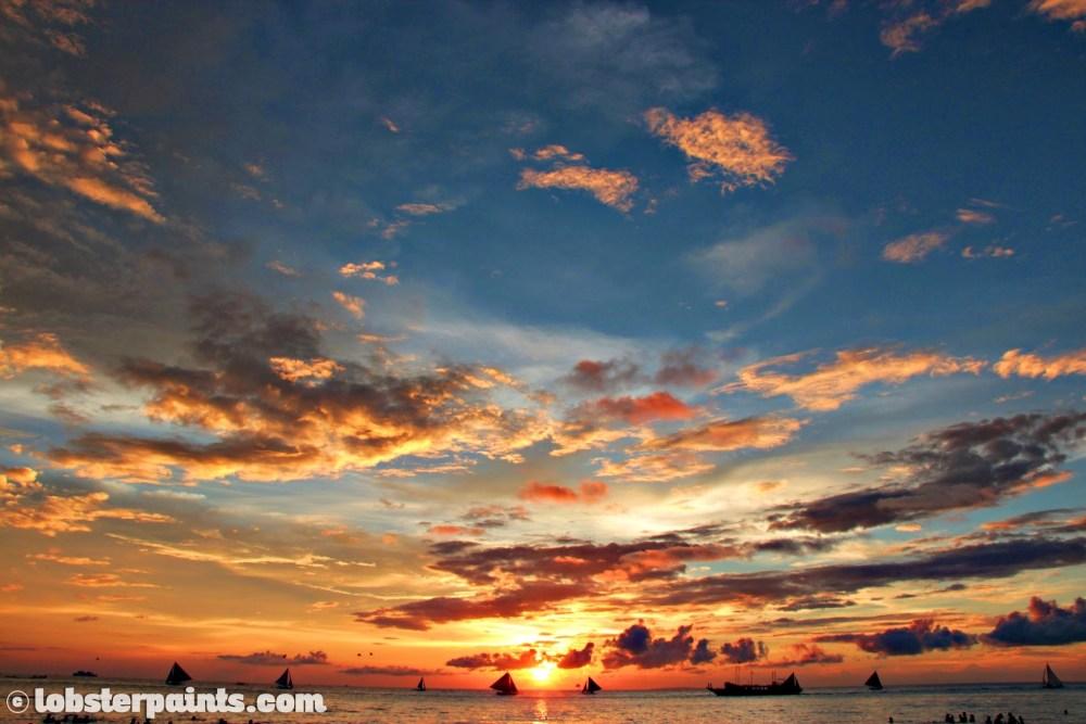Boracay November 2013 - Sunset