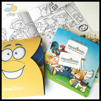 Libros Súper Prota, regalos personalizados para niños