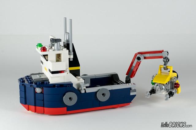 REVIEW LEGO 31045 Creator Ocean Explorer 17