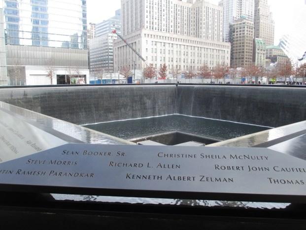 9/11 Memorial, New York City, NY, Feb. 10, 2016