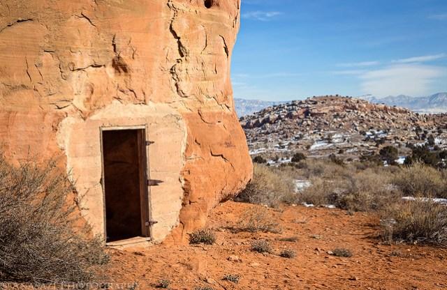 Sandstone Doorway
