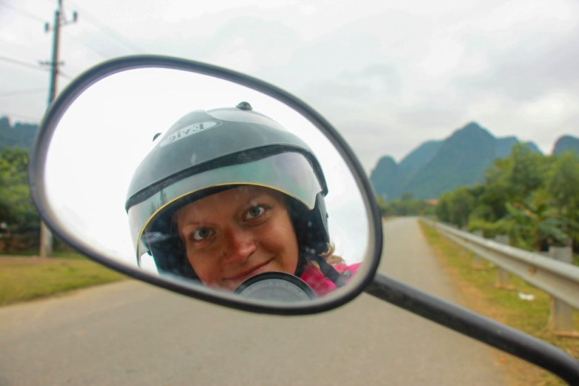 Scooter eventyr ved Phong Nha Nationalpark