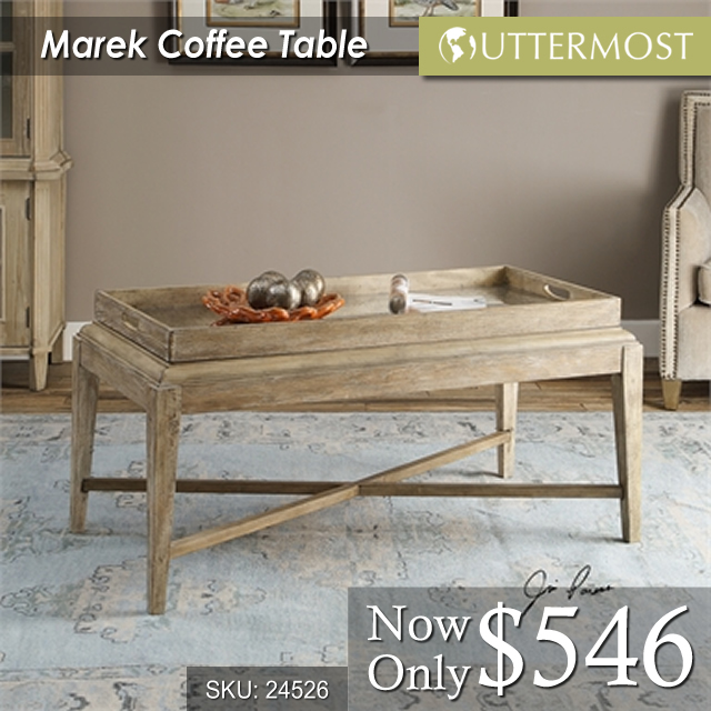24526 Marek Coffee Table $546