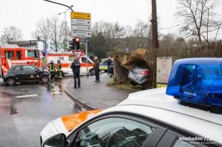 Verkehrsunfall Klarenthaler Straße/2.Ring 31.12.15