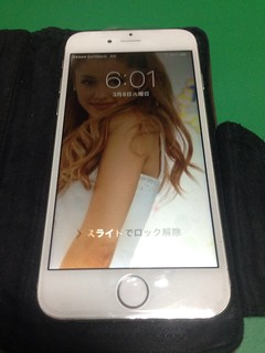 53_iPhone6のフロントパネル液晶不良