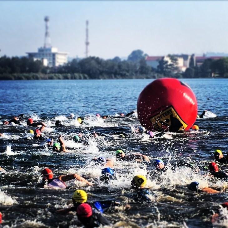 Start of the swim