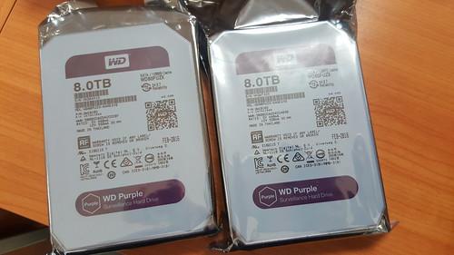 WD Purple 8TB แบบใหม่ Helioseal