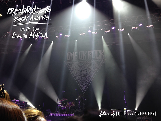 ONE OK ROCK Live in Manila.