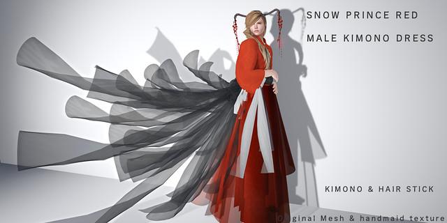 *NAMINOKE*SNOW PRINCE Red