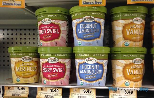 Sprouts Organic Ice Cream 2