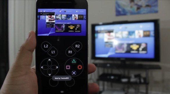 PS4 Android Remote Play