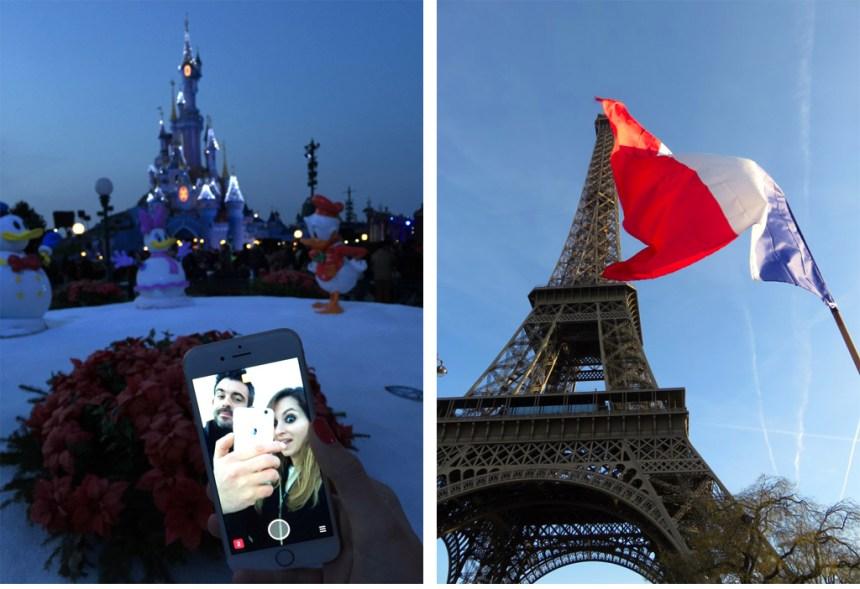 París y Disneyland