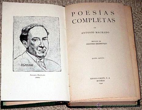 16d08 Poesías completas de Antonio Machado, prólogo de Dionisio Ridruejo 1941 Uti 465