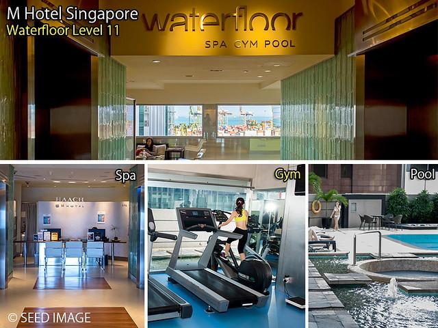 M Hotel Singapore Waterfloor