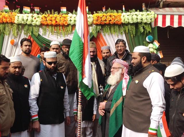Flag Hosting by Shahi Imam