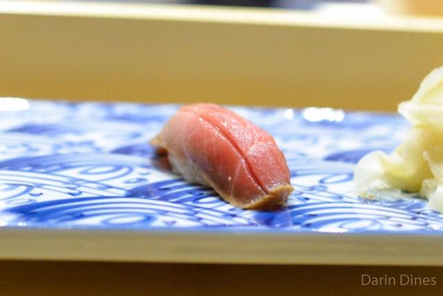 Bluefin Tuna soy cured, seared