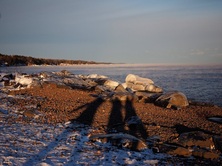 Minnesota's North Shore in winter - Due Midwest