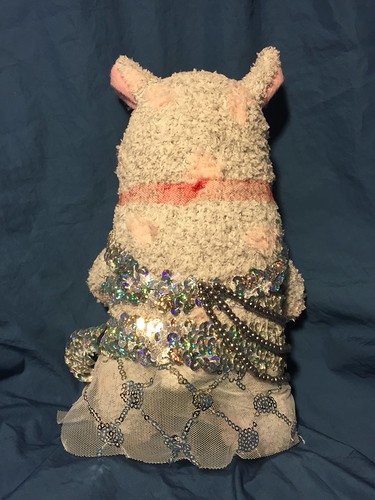Belly dancer alpaca for Anela