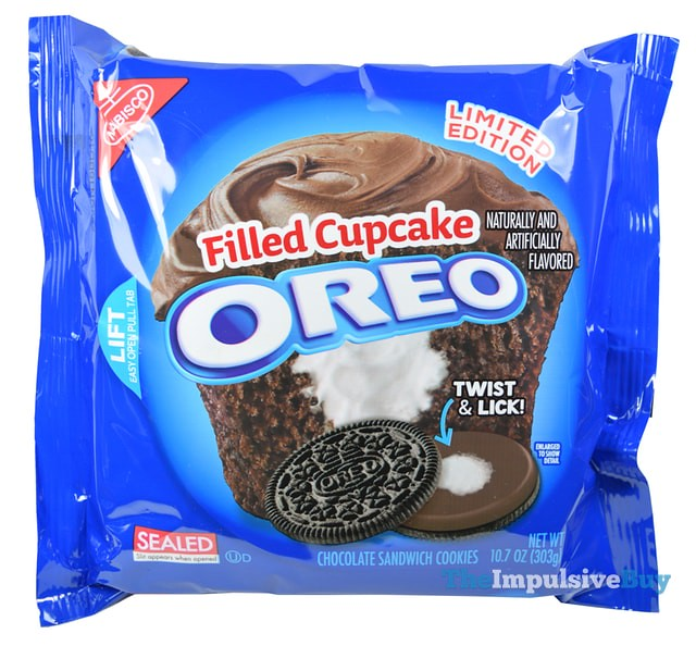 Limited Edition Filled Cupcake Oreo Cookies