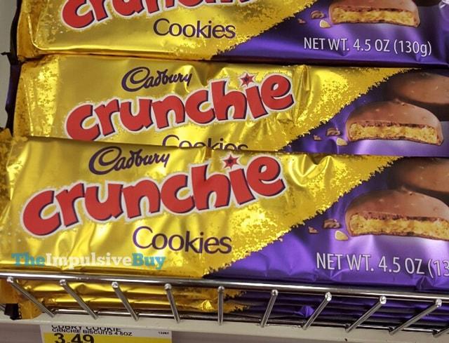 Cadbury Crunchie Cookies