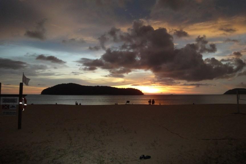Sunset at Holiday Villa Langkawi Beach