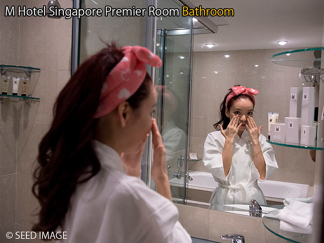 M Hotel Singapore Premier Room Bathroom