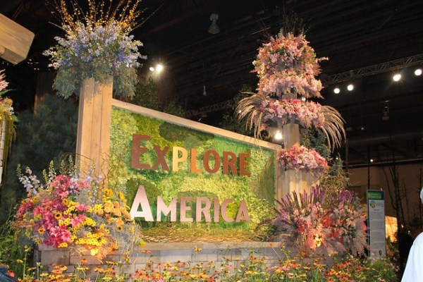 Explore America Flower Show - Shades of Sarah
