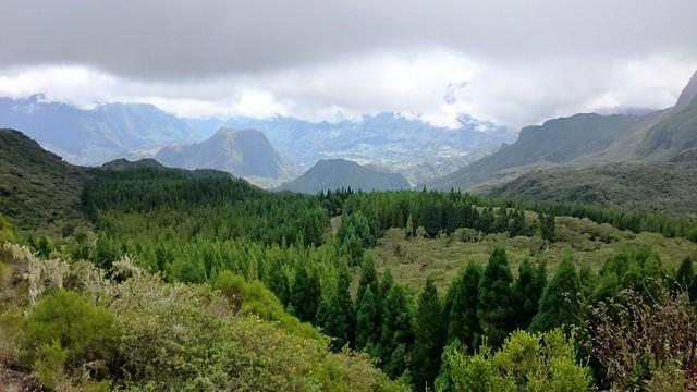 Salazie from Col des Boeufs