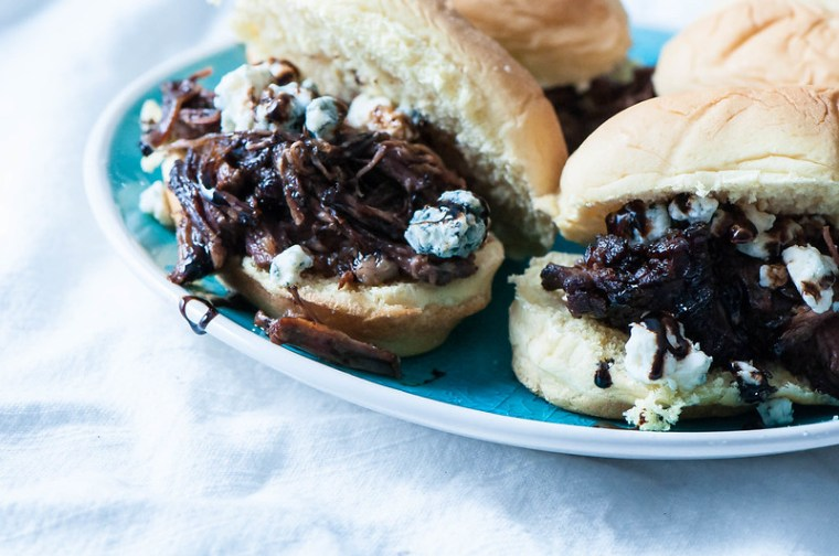 Black and Bleu Sliders with Balsamic Reduction 1