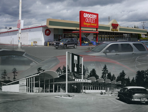 Burien Tradewell 1957 and 2014