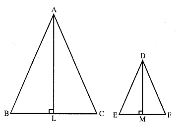 Triangles RD Sharma Class 10 Solutions Exercise 4.6