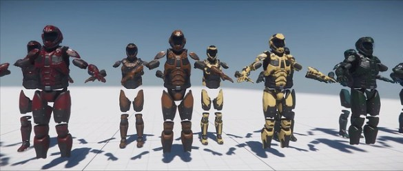 Star Citizen - Armor Color Variants
