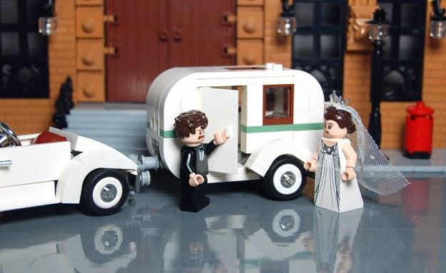 Vintage Wedding Caravan