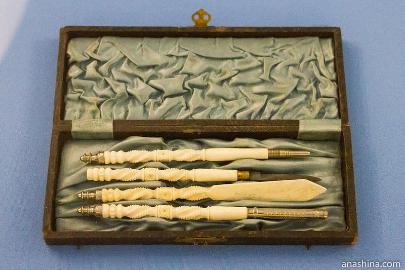 Письменные принадлежности, XVIII век