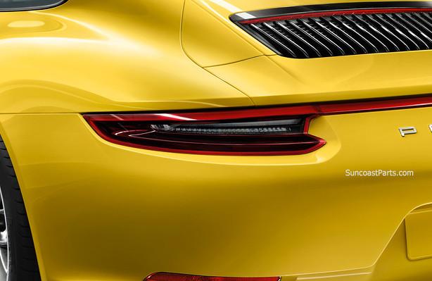 porsche tinted tint dark tail light 2017 992 911 carrera