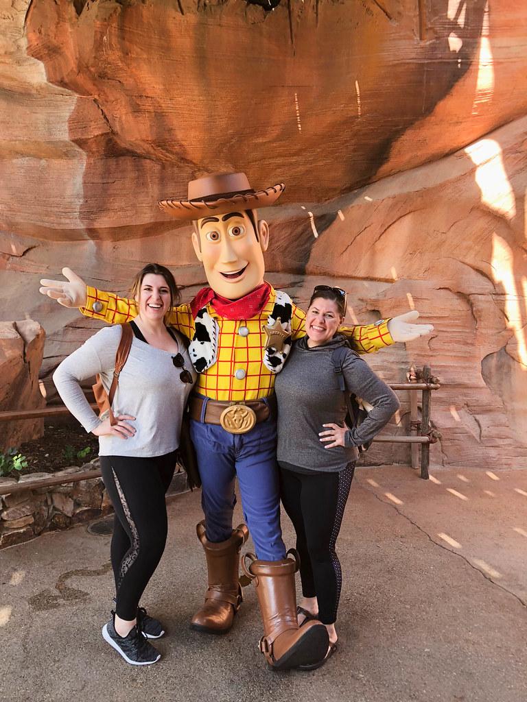 We met Woody!
