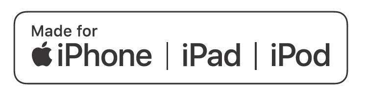MFi認証済の商品に印刷されるロゴ