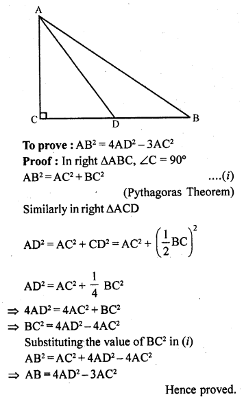 RD Sharma 10 Solutions Chapter 4 Triangles