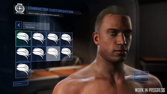 Star Citizen - Character Customization