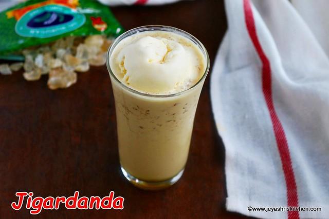 Jigarthanda- recipe